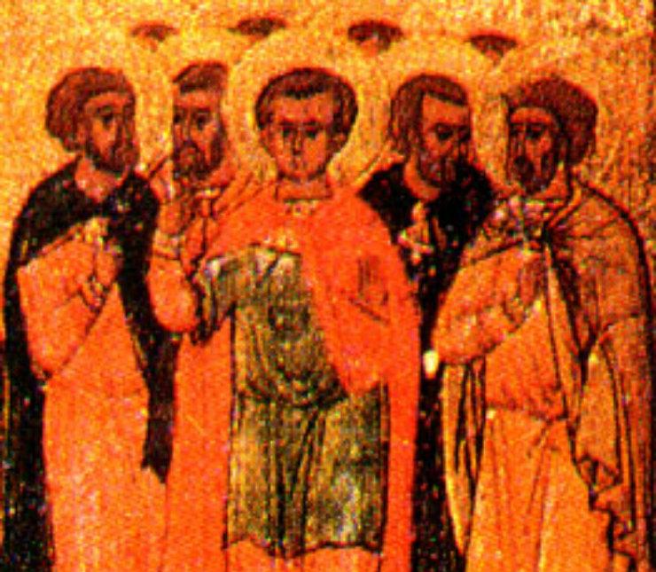 Συναξάρι 15 Μαρτίου, Άγιος Αγάπιος και των συν αυτώ μάρτυρες