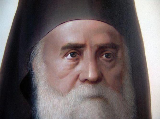 Ο άγιος Νεκτάριος μίλαγε πολύ απλά στην Παναγία