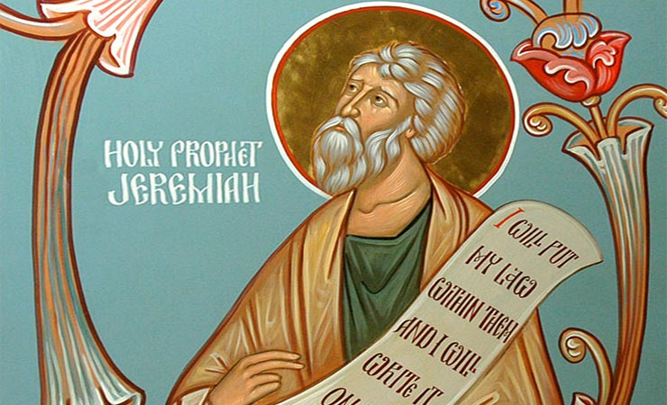 Συναξάρι 1 Μαΐου, Προφήτης Ιερεμίας