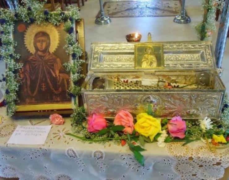 Στο Μαρούσι το Ιερό Λείψανο της Αγίας Αναστασίας της Ρωμαίας