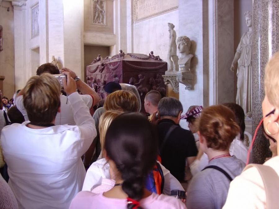 Ο τάφος της Αγίας Ελένης