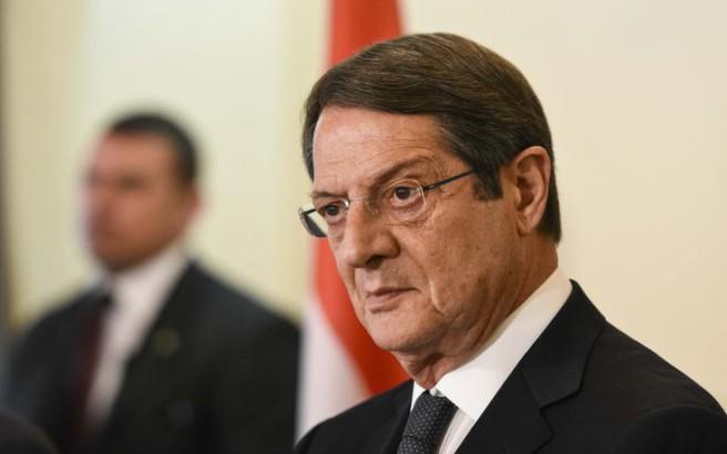Αναστασιάδης: «H μάχη πρέπει να δοθεί με αποφασιστικότητα»