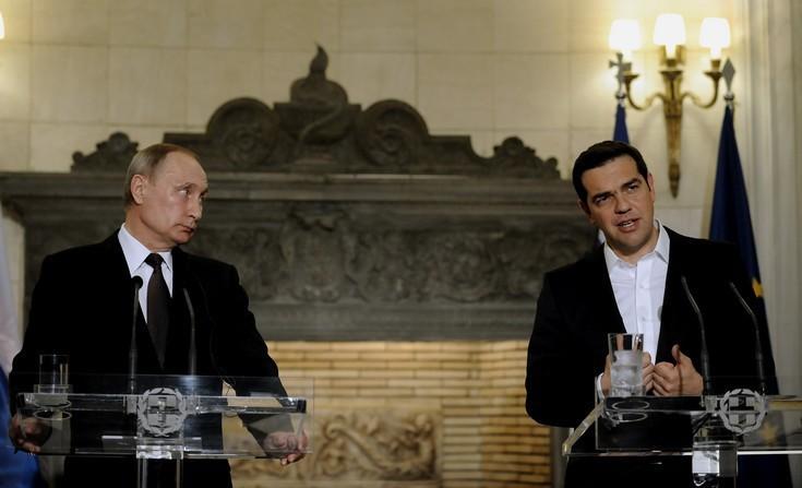 Ευθείες βολές Πούτιν κατά Τουρκίας και ΗΠΑ από την Αθήνα