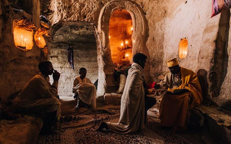 Αιθιοπία : Οι λαξευμένες Εκκλησίες πάνω στα βουνά, ΕΙΚΟΝΕΣ