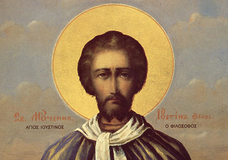 Συναξάρι 1 Ιουνίου, Άγιος Ιουστίνος ο Απολογητής και φιλόσοφος
