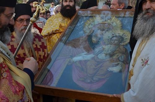 Στην Κύπρο η εικόνα της Παναγίας της Αγιοταφίτισσας, ΕΙΚΟΝΕΣ