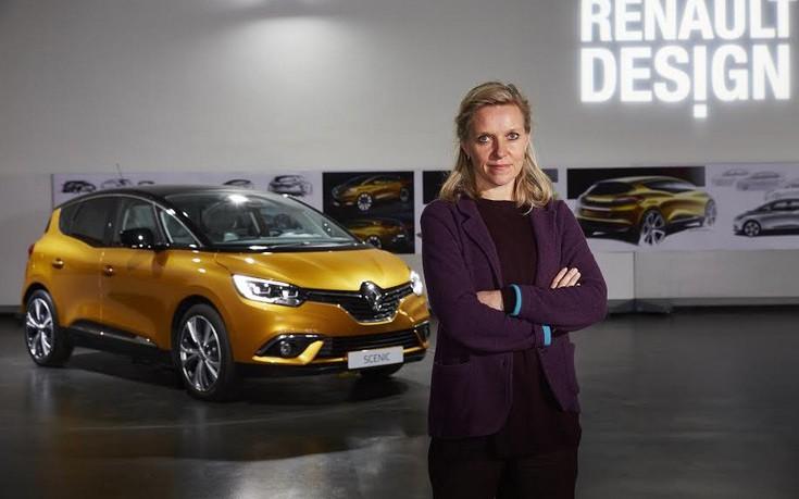 Σχεδιάστρια της Renault η γυναίκα της χρονιάς