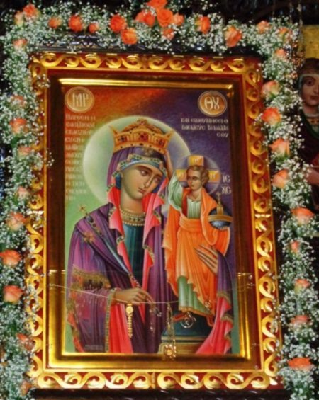 Η Ιερά Εικόνα της Παναγίας Βασίλισσας στις Αφέτες Πηλίου Βόλου