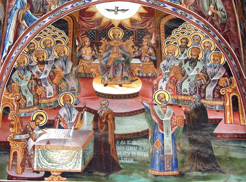 Ο Απόστολος και το Ευαγγέλιο της Κυριακής 12 Ιουνίου, Πατέρων της Α' Οικουμενικής Συνόδου