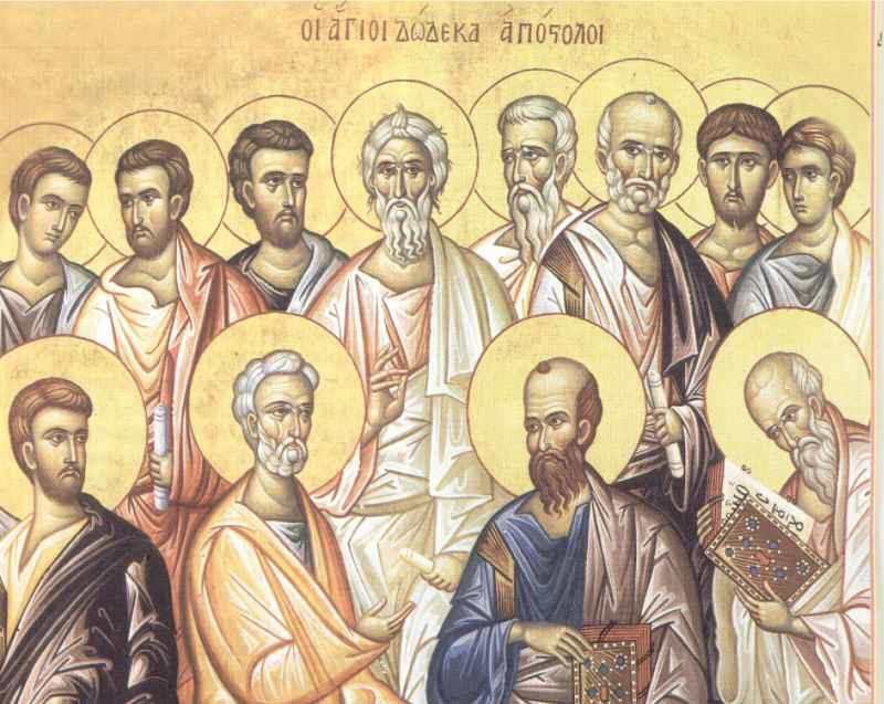 Συναξάρι 30 Ιουνίου, Σύναξη των Αγίων Δώδεκα Αποστόλων