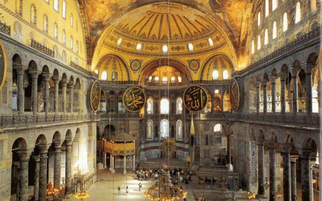 Η τοιχογραφία της Αγ. Σοφιάς που σκότωνε όποιον Τούρκο προσπαθούσε να την καταστρέψει