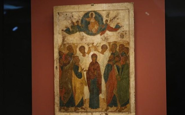 Η εικόνα της Ανάληψης του Χριστού στα εκθέματα του Βυζαντινού Μουσείου