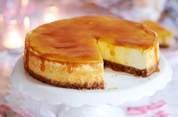 Γιώργος Λέκκας: Cheesecake με καραμέλα και κρέμα μπανάνα