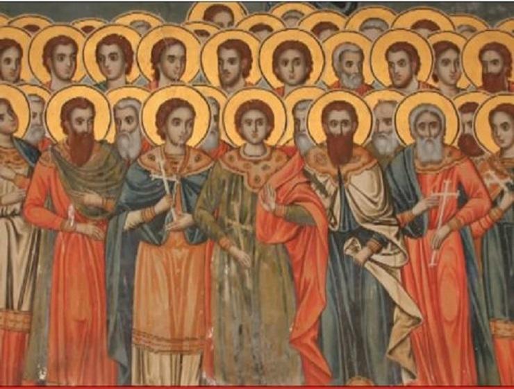 Συναξάρι 10 Ιουλίου, Οι Άγιοι Σαράντα Πέντε Μάρτυρες