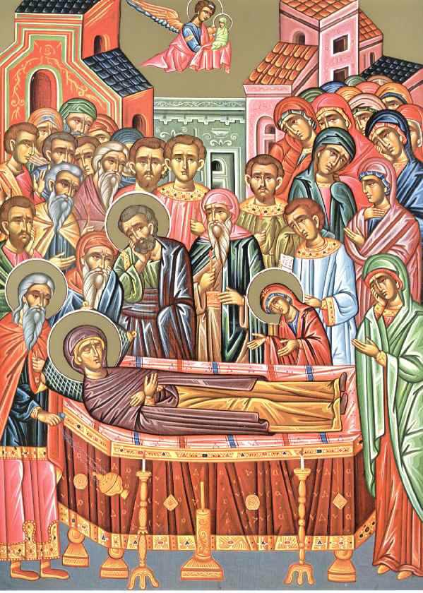 Συναξάρι 25 Ιουλίου, Κοίμηση της Αγίας Άννας