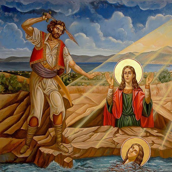 Το θαύμα και το αγίασμα στον τόπο του μαρτυρίου της Αγίας Μαρκέλλας που γιορτάζει σήμερα