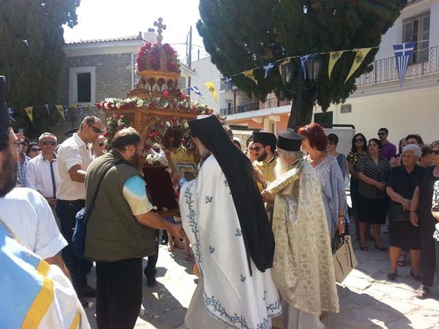 Σκιάθος : Οι εορτασμοί της πολιούχου Παναγίας «Εικονιστρίας», ΕΙΚΟΝΕΣ