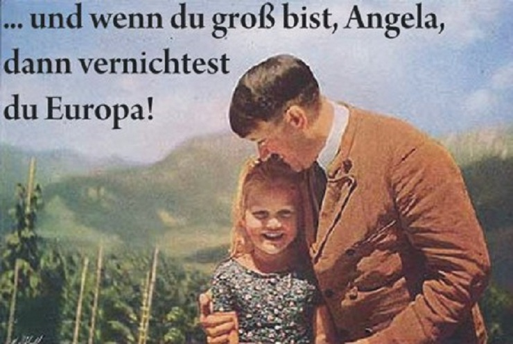 Mήπως η Μέρκελ είναι τελικά η κληρονόμος του Χίτλερ;
