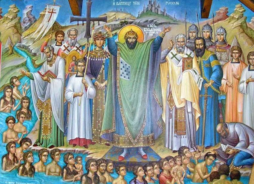 Συναξάρι 15 ιουλίου, Άγιος Βλαδίμηρος ο Ισαπόστολος βασιλιάς των Ρώσων