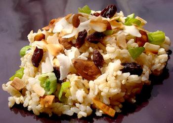 Γιώργος Λέκκας: Ρύζι με ταχίνι και σταφίδες
