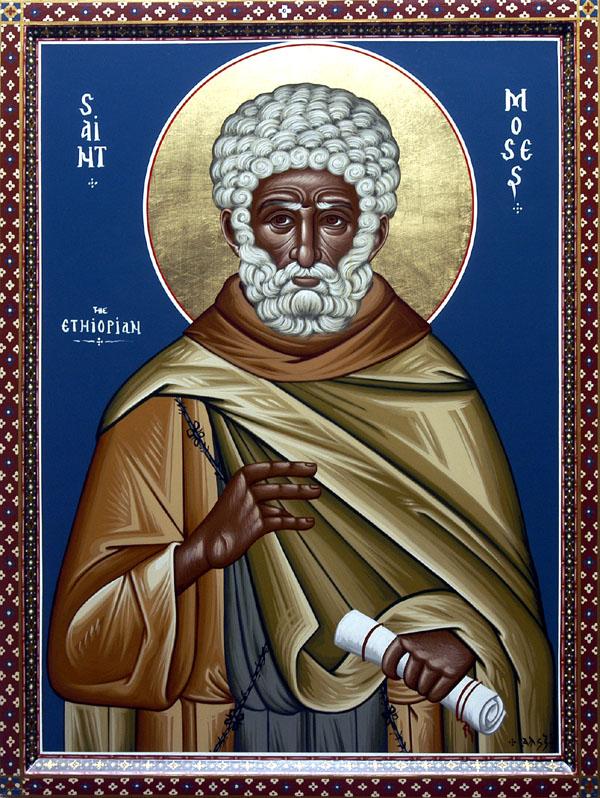 Συναξάρι 28 Αυγούστου, Όσιος Μωυσής ο Αιθίοπας