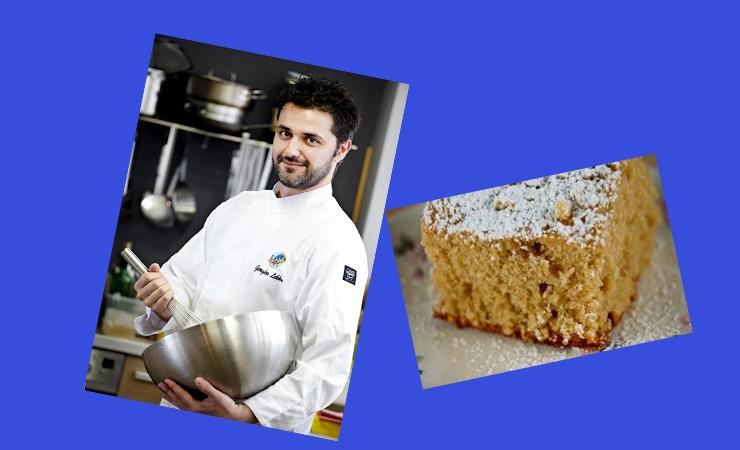 Κέικ νηστίσιμο με φιστίκι και σταφίδες