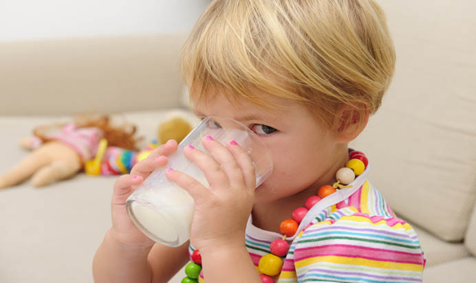 Παιδί και δυσανεξία στη λακτόζη