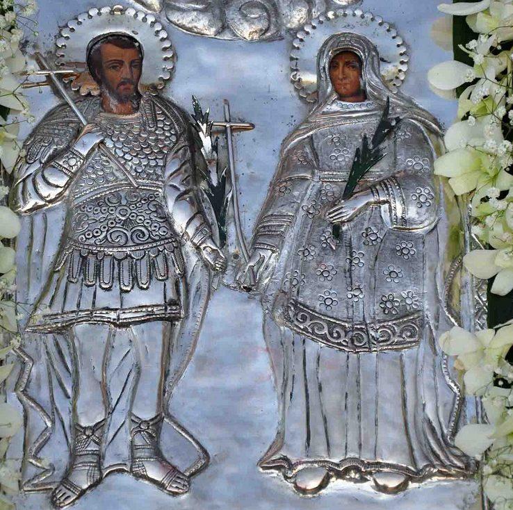 Συναξάρι 26 Αυγούστου, Άγιοι Ανδριανός και Ναταλία