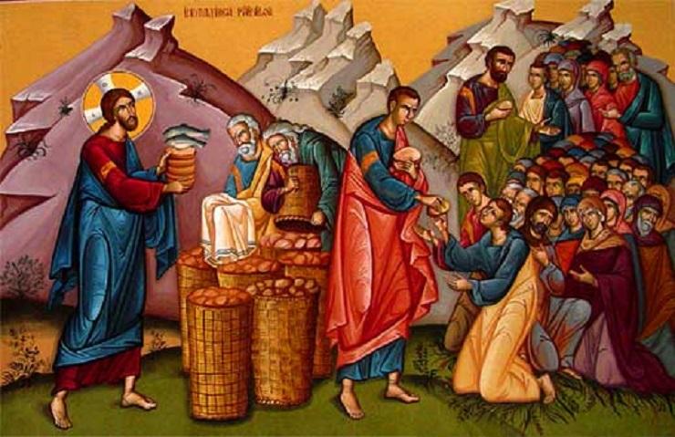 Ο Απόστολος και το Ευαγγέλιο της Κυριακής 14 Αυγούστου