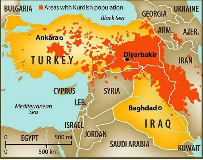 Συρία: Οι Κούρδοι ετοιμάζουν Κουρδική ομοσπονδία τον Οκτώβριο