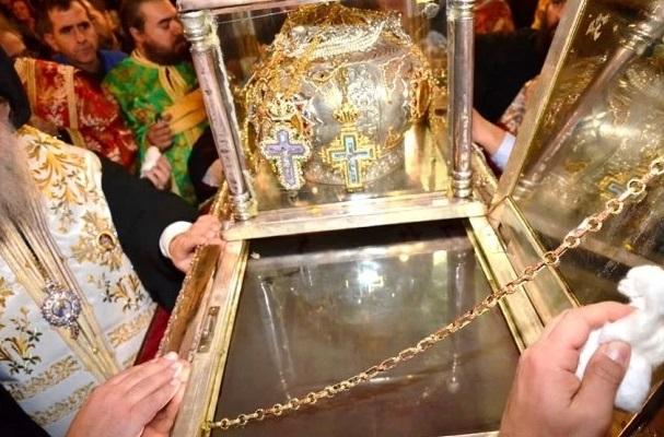 Το μύρο του Μεγαλομάρτυρος Αγίου Δημητρίου, Πολιούχου Θεσσαλονίκης