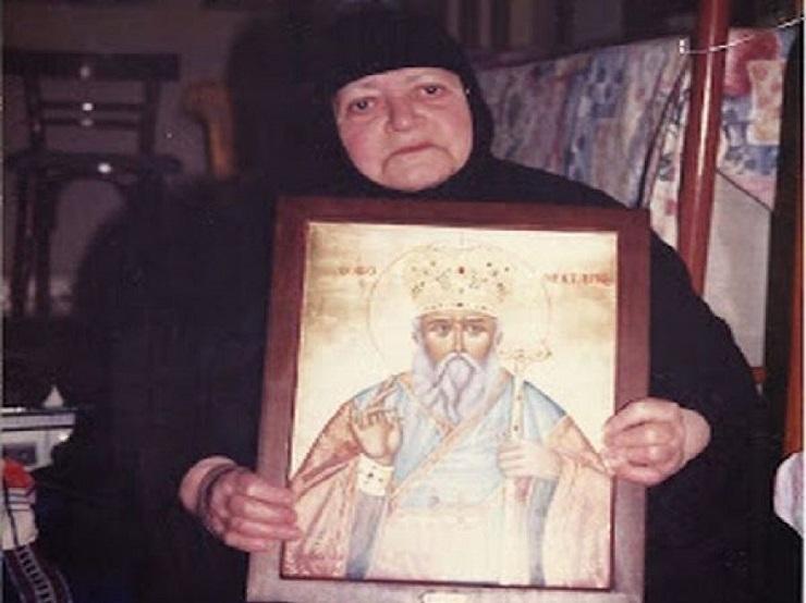 Γερόντισσα Νεκταρία: «Ήρθε ο Άγιος Νεκτάριος στο κελλί μου»