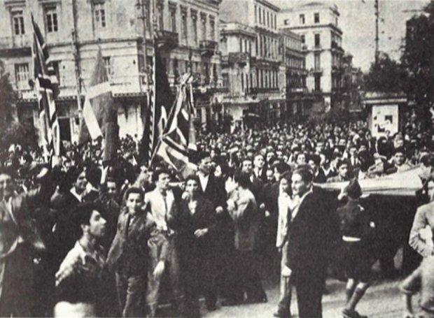 Σαν σήμερα 12 Οκτωβρίου 1944, το τέλος της γερμανικής κατοχής