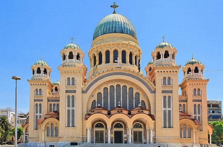 Ο Άγιος Ανδρέας Πατρών από ψηλά - Η μεγαλύτερη εκκλησία στην ΕλλάδαL, ΒΙΝΤΕΟ