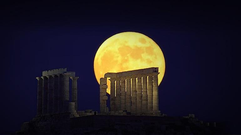 Το Σούπερ φεγγάρι, ΕΙΚΟΝΕΣ