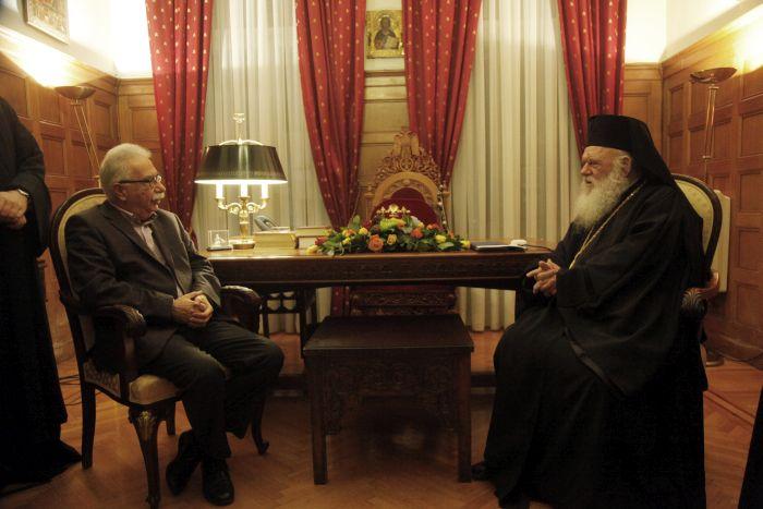 Να συνεχιστεί ο διάλογος για τα Θρησκευτικά συμφώνησαν Αρχιεπίσκοπος-Γαβρόγλου