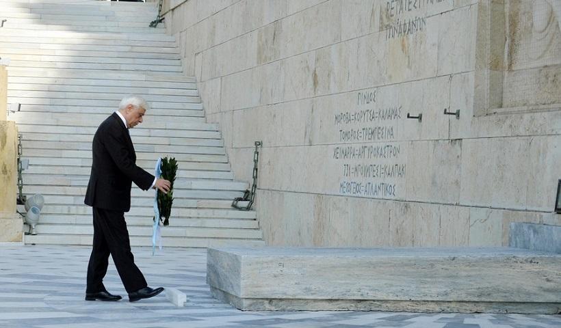 Πρ. Παυλόπουλος: Δεν θα ανεχτούμε αμφισβήτηση των συνόρων μας