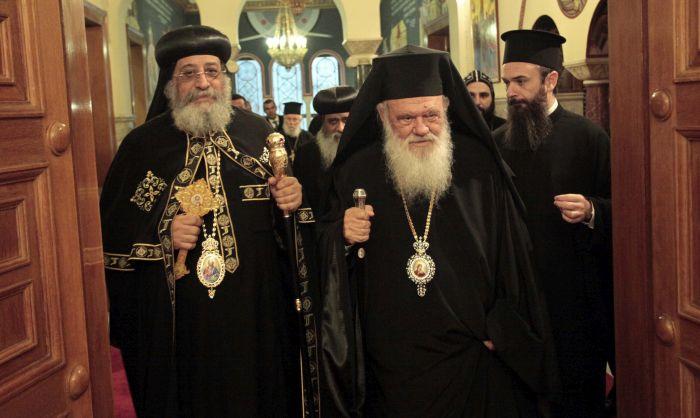 Ο Αρχιεπίσκοπος συναντήθηκε με τον Κόπτη Πατριάρχη – Επίσκεψη στην «Αποστολή»