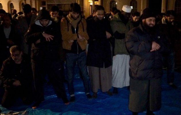 Τζιχαντιστές διαδήλωσαν στο κέντρο του Λονδίνου απαιτώντας «χαλιφάτο» (βίντεο)
