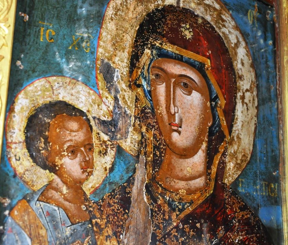 Γεροντικόν του Αγίου Όρους: Θαύμα της Παναγίας στη Νέα Σκήτη