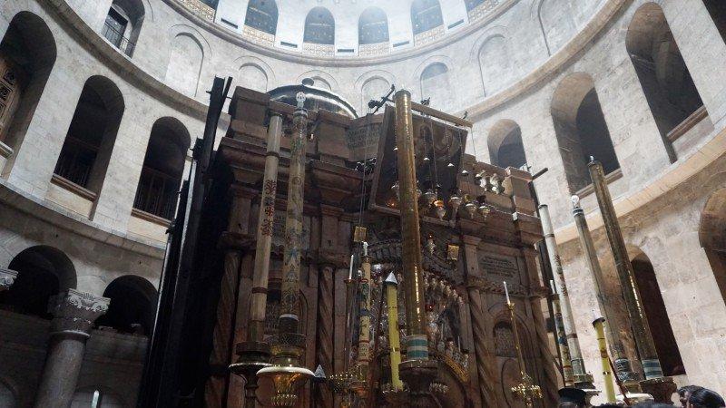 Παρουσίαση του έργου της Αποκαταστάσεως του Ιερού Κουβουκλίου του Παναγίου Τάφου (ΒΙΝΤΕΟ)