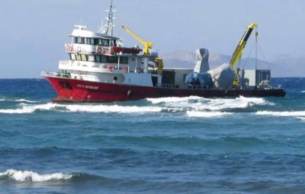 Θρίλερ με το τουρκικό πλοίο στην Κω