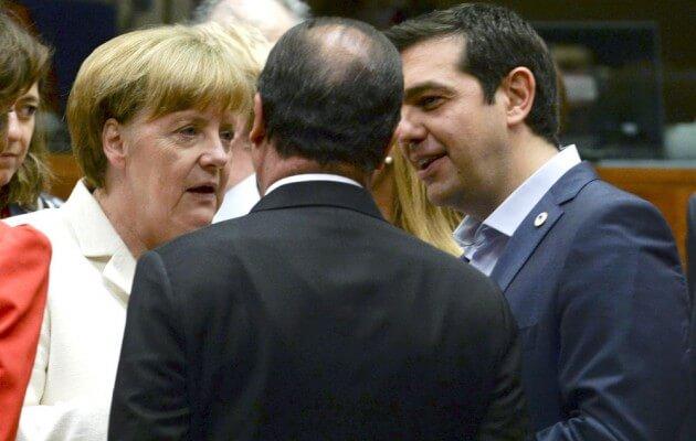 Διπλωματικός πυρετός: Πρωτοβουλίες Τσίπρα με Μέρκελ και Ολάντ για το Κυπριακό