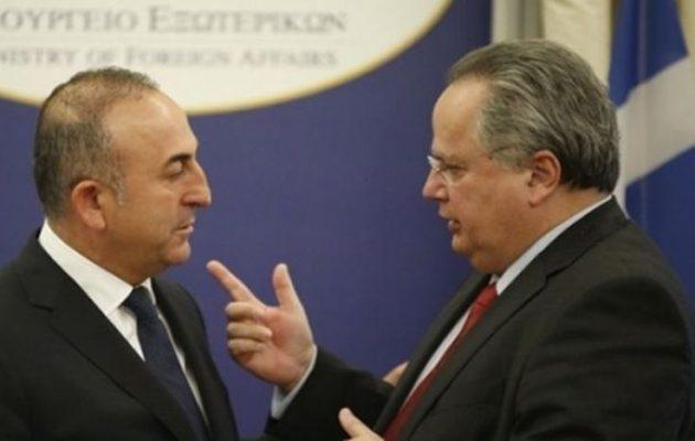 Κυπριακό: Σκληρή αναμέτρηση Κοτζιά – Τσαβούσογλου