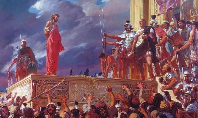 Μπροστά στον Πιλάτο ο Χριστός παρέμεινε σιωπηλός,γιατί  άραγε;