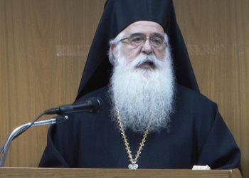 Δημητριάδος Ιγνάτιος: Η Εκκλησία δεν κάνει πολιτική – Ανοίξαμε ναούς για τους πρόσφυγες