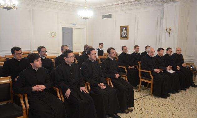 Συνάντηση Μητρ. Ιλαρίωνα με ομάδα Ρωμαιοκαθολικών κληρικών από τη Γαλλία
