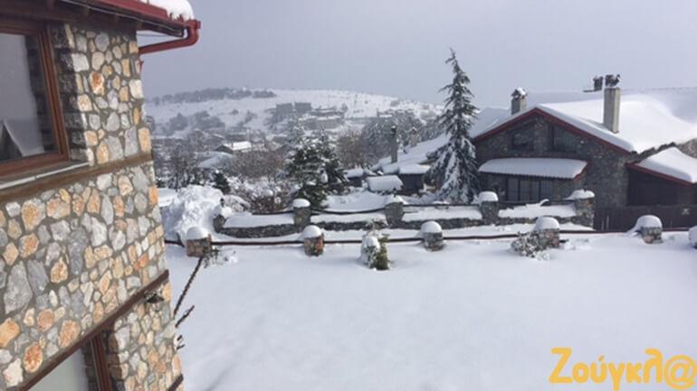 Hotel Spa Lithos: Ιδανικός προορισμός στον χιονισμένο Παλαιό Άγιο Αθανάσιο