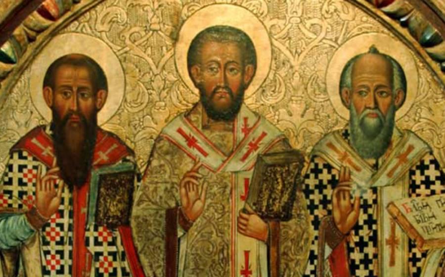 Ιερά Σύνοδος για τρεις Ιεράρχες: Μεγάλοι φωστήρες της Εκκλησίας και της Οικουμένης