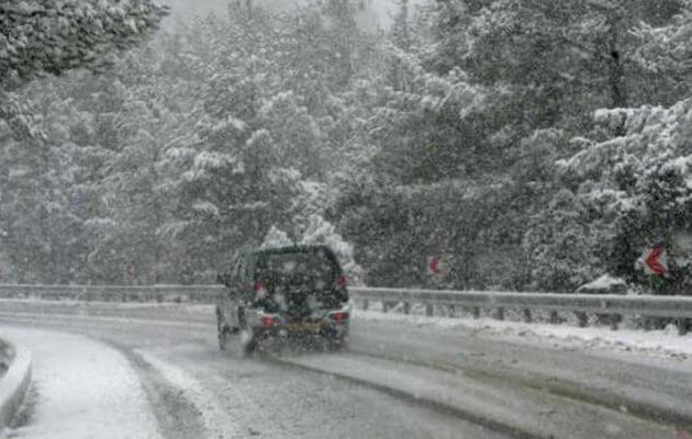 Nέα επέλαση του χιονιά την Τετάρτη – Που θα «χτυπήσει» περισσότερο